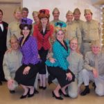 The Satin Dolls and 8th Army Group at the Savannah Center, the Villages